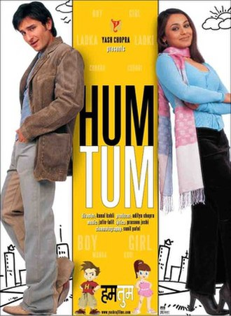 Hum Tum - Promotional poster for the film