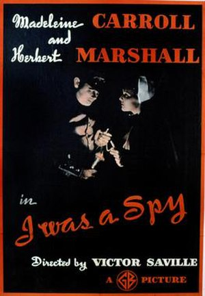 I Was a Spy - Image: I Was a Spy 1933 Poster