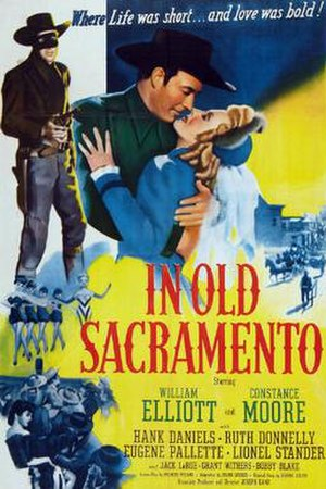In Old Sacramento - Theatrical release poster