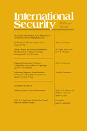 International Security (journal) - Image: Internationalsecurit ylowres
