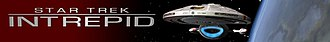 Star Trek: Intrepid - Image: Intrepid logo