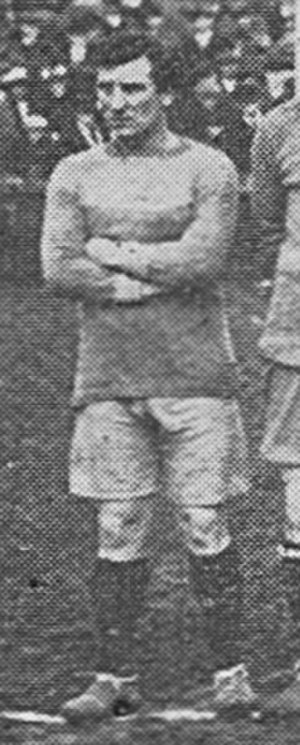 Jack Peart (footballer, born 1884) - Peart while with Brentford in 1919.