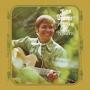 Rhymes & Reasons (John Denver album) - Image: Johndenverrhymesandr easons