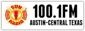 KTSN (AM) - Image: KTSN Sun Radio 100.1 logo