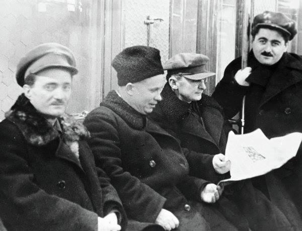 Khrushchyov, Beria and Khanjian