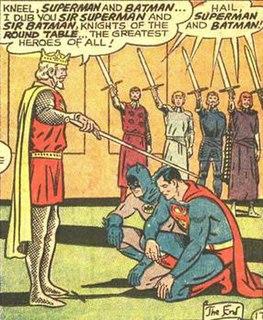 King Arthur in comics