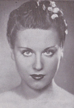 Ksenia Kuprina - Kissa Kouprine in 1937