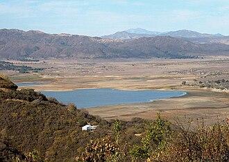 Lake Henshaw - Lake Henshaw from Mesa Grande Road
