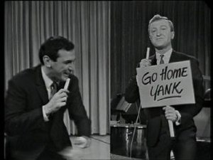 Graham Kennedy - Graham Kennedy, (pictured right) appears on screen with American later Australian entertainer Don Lane