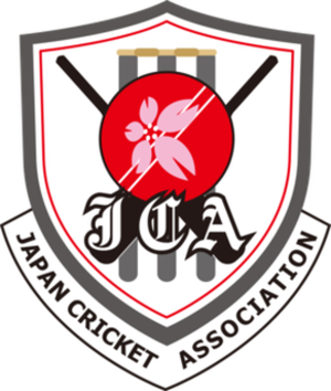 Japan national cricket team - Image: Logo of Japan Cricket Association
