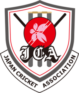 Japan national cricket team - Image: Logo of Japan Cricket Association