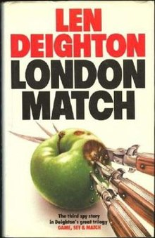 Granada paperback cover of London Match