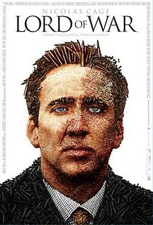 <i>Lord of War</i> 2005 crime war film by Andrew Niccol