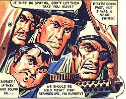 African legion comic strip