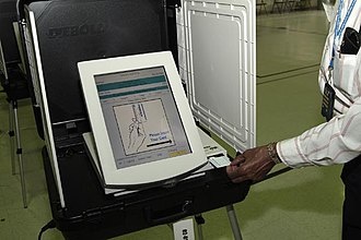 Voting machine - Image: M Dvotingmachine