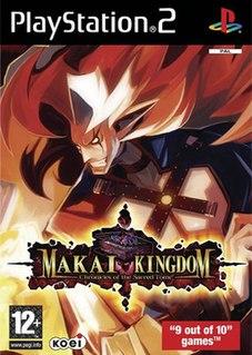 <i>Makai Kingdom: Chronicles of the Sacred Tome</i> 2005 video game