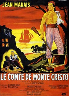 <i>The Count of Monte Cristo</i> (1954 film) 1954 film by Robert Vernay