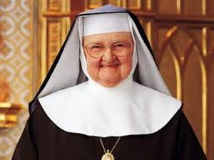 Mother Angelica - Mother Angelica in the Shrine of the Most Blessed Sacrament in Hanceville, Alabama