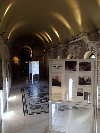Museo delle Mura - One of the exhibitions