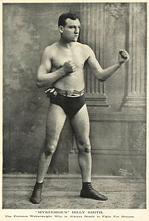 Mysterious Billy Smith Canadian boxer
