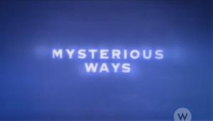 Mysterious Ways (TV series) - Image: Mysterious Ways (TV series) intertitle