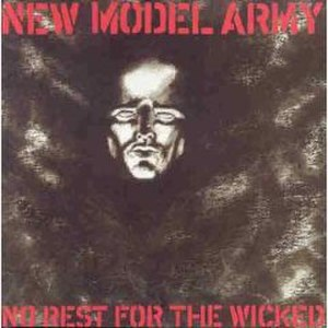No Rest for the Wicked (New Model Army album) - Image: NMA no rest