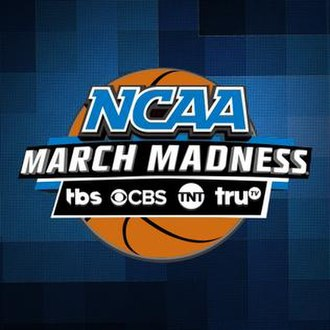 NCAA March Madness (TV program) - Logo used until 2018.