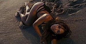 Your Love (Nicole Scherzinger song) - Scherzinger in the music video.