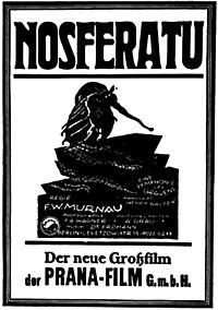 Cartel promocional de Nosferatu