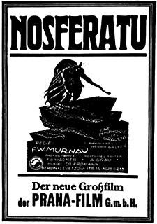 <i>Nosferatu</i> 1922 film directed by F. W. Murnau