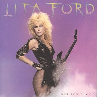 Out for Blood (Lita Ford album) - Image: Out for blood cover
