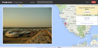 Panoramio 2005–2016 geotagging photo sharing service owned by Google
