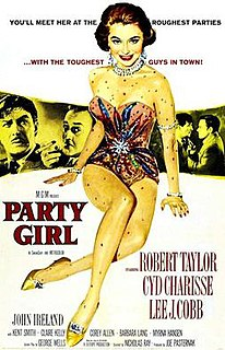 <i>Party Girl</i> (1958 film) 1958 film directed by Nicholas Ray