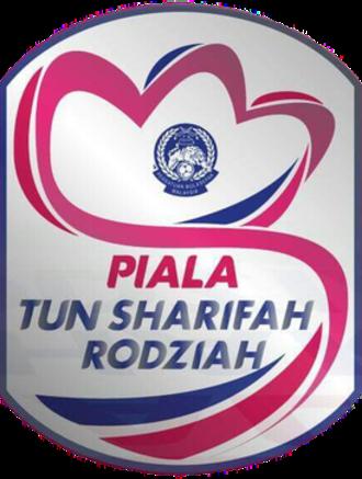 Piala Tun Sharifah Rodziah - Image: Piala Tun Sharifah Rodziah 2016 Logo