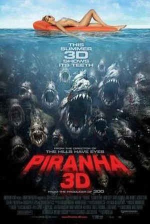 Piranha 3D - Theatrical poster