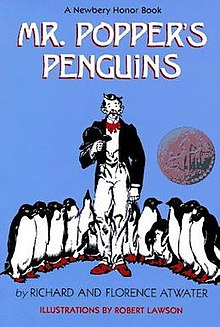 Mr poppers penguins book