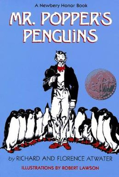 Picture of a book: Mr. Popper's Penguins