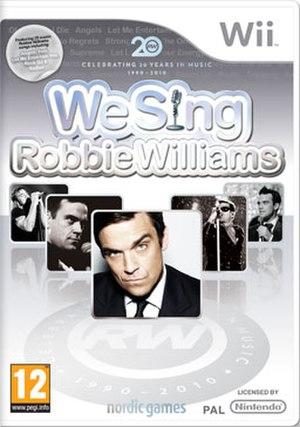We Sing Robbie Williams - Image: RW PE Gi