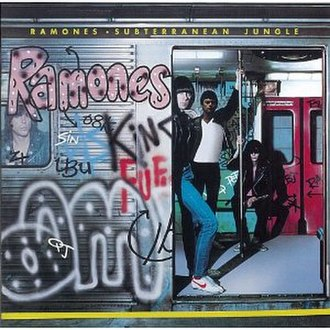 Subterranean Jungle - Image: Ramones Subterranean Jungle cover