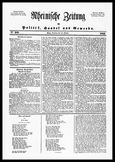 <i>Rheinische Zeitung</i>