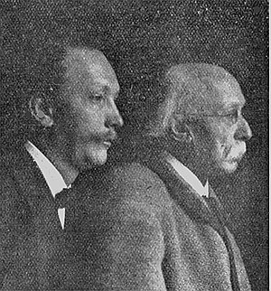 Franz Strauss - Franz Strauss, right, with his son Richard in 1901