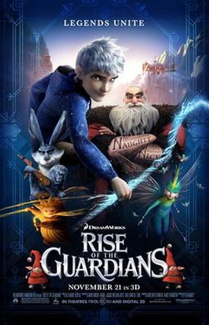 Rise of the Guardians - Theatrical release poster