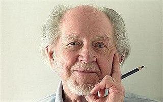 Ronald Searle British artist and satirical cartoonist