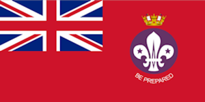 Sea Scouts (The Scout Association) - Ensign of the Royal Navy Recognised Sea Scouts