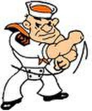 Sarasota High School - Image: SHS Sailor logo