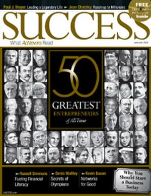 Success (magazine) - The June/July 2008 issue