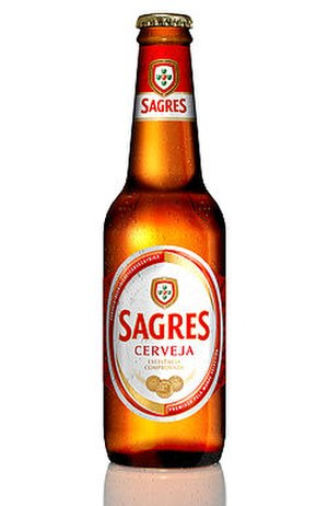 Central de Cervejas - A bottle of Sagres