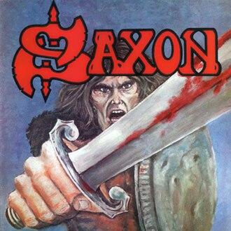 Saxon (album) - Image: Saxondebut