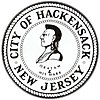 Official seal of Hackensack, New Jersey