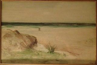 Frank Laing Scottish painter and etcher